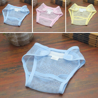 Reusable Baby Cloth Newborn Nappy Diaper Net Wrap Kids Cover Adjustable Washable