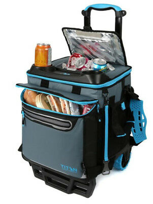 Titan 22.5 Litre Roller Cooler Trolley Bag - Cool Up To 3 days New