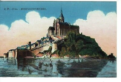 CPA - Carte postale - FRANCE - Mont-Saint Michel (iv 216)
