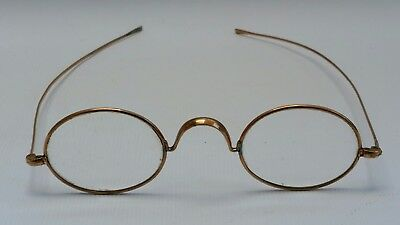 Vintage D.Y.O.CO Rolled Gold Oval Steampunk Spectacles Reading Glasses