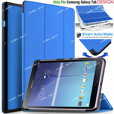"Leather Magnetic Case Cover For Samsung Galaxy Tab E 9.6"" Inch SM-T560 SM-T561"