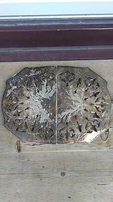 Antique Silver on Copper Tray 65 + Years Old