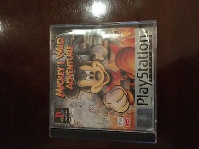 Mickys Wild Adventure PlayStation 1
