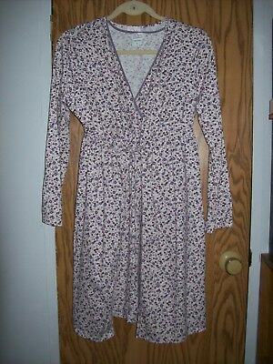 """Oh Baby"" by Motherhood gown and robe set Size S"