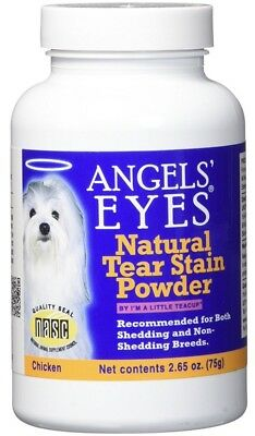 Angels Eyes Chicken Formula Tear Stain Remover for Dogs 75g 2.65 Oz Powder