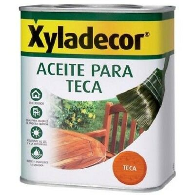 Aceite de teca Xyladecor 750 ml Teca