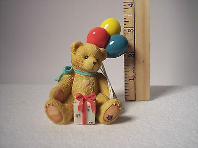 Vintage Event Figurine- Beary Happy Wishes - NINA  1996  # 215864