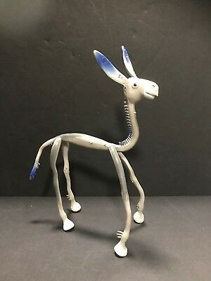 Vintage Brabo Bendable Donkey Toy -Made In Honk Kong