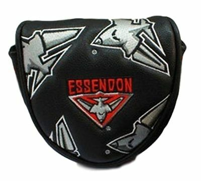 Afl Mallet Putter Cover - Essendon - Official Afl Merchandise - New!