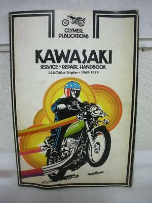 Clymer  #m353 Kawasaki  250-750 69-76 Repair Book