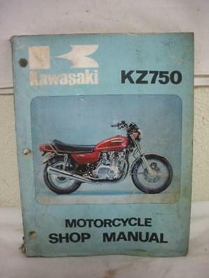 Original Japan Kawasaki  Kz750  # 99997-774--01 Shop Service Manual