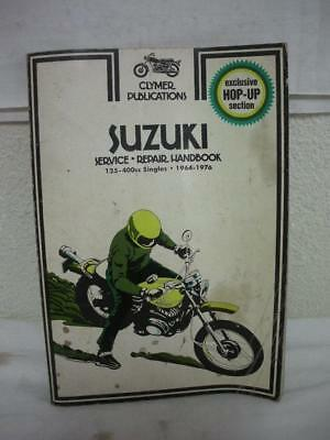 Clymer # M369 Suzuki  1964-1976 Repair Manual