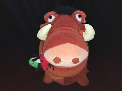 Walt Disney The Lion King Pumbaa 16 Inch Plush Stuffed Animal