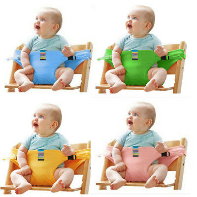 US STOCK Portable Baby High Chair Booster Safety Seat Strap Harness Seat Belt J