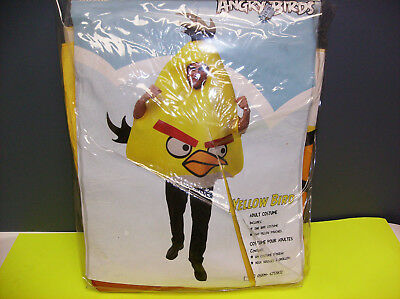 Angry Birds Yellow Bird Unisex Halloween Costume One Size Fits All
