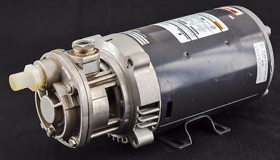 MTH T31G SS Turbine Centrifugal Liquid Water Pump w/Emerson 3450 RPM 1/2HP Motor
