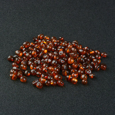Natural Baltic Amber Beads 5-6mm Width Pre-Drilled Holes for Jewelry