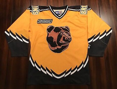 RARE VINTAGE STARTER 2NHL Boston Bruins Bear Hockey Jersey Youth S M ... 09f19b45f