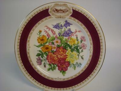 Royal Horticultural Society 1984 Chelsea Flower Show Chelsea Morning Plate
