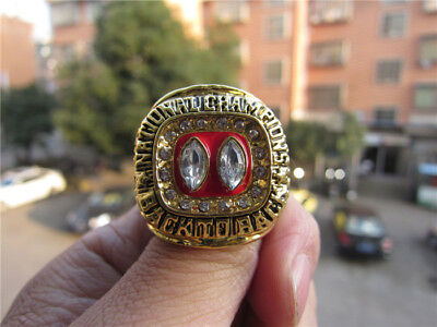 1994 -1995 Nebraska Huskers Back to Back National Championship ring Fan Men Gift