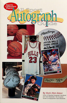 All Sport Autograph Guide by Mark Allen Baker (1994 Paperback)