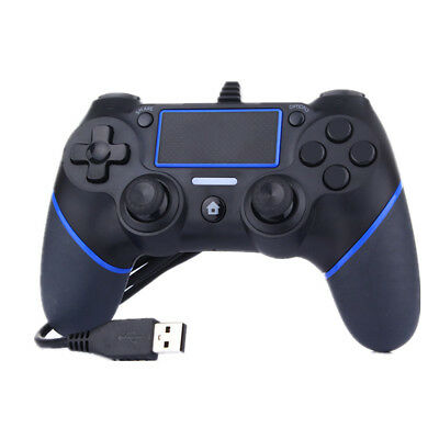 USB Wired Controller Gamepad Joypad for PS4 Multiple Vibrations Controllers