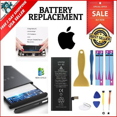 Litsped 2100Mah Apple iPhone 6 Battery Replacement A1549 A1586 A1589 Tool Kit