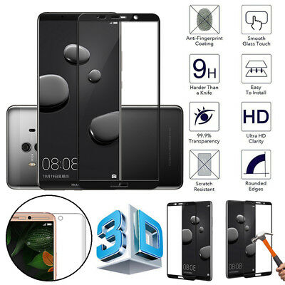 For Huawei Mate 10 pro/Lite 3D Curved Tempered Glass Screen Protector Guard OBE1