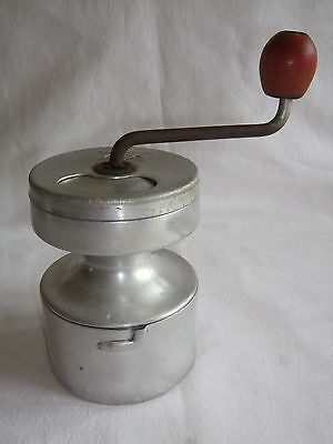Vintage 'Hop' French Aluminium Coffee Grinder - 1930's