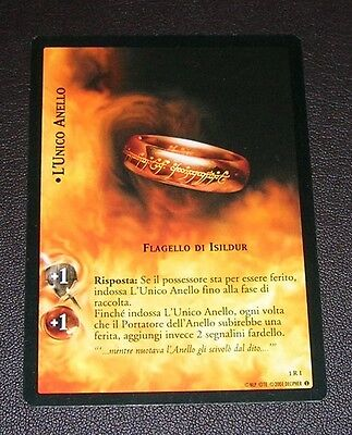 LotR Lord of the Rings TCG complete italian Fellowship of the Ring