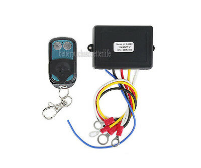 Wireless Winch Remote Control Switch,9-30VDC Power,for Truck Jeep ATV SUV Winch