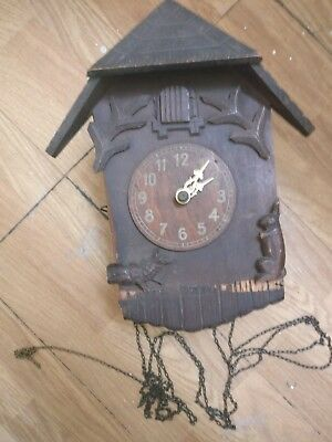 Cuckoo clock Spares or repair  1941 REDUCED
