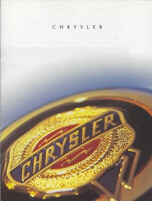 Chrysler • Brochure Program & Atlantic Concept • 1997 • Dutch • EXCELLENT