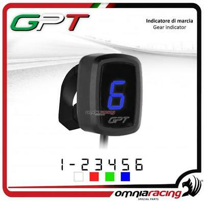 Contamarce GPT plug&play Indicatore marcia blu e supporto Honda CB650F 2014>2016