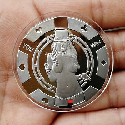 Sexy Cowgirl  1 Troy oz .999 Fine Silver Bullion Proof Round  ( Coin  ) New!