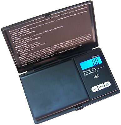 Precision Pocket Digital Professional Coin Scale 100 x .1 g Gems Spices Free S&h