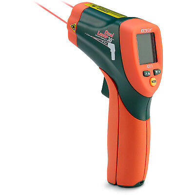 Extech Dual Laser IR Thermometer without NIST Certificate Model 42512