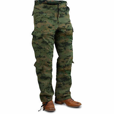 "Woodland Digital X-Large Vintage Paratrooper Fatigue Pants (39""-43"")"