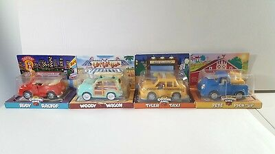 Chevron Toy Cars Trucks Lot of 4 New in Package