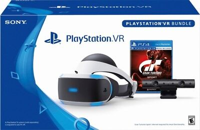 New Sony Playstation Vr Gran Turismo Sport Bundle