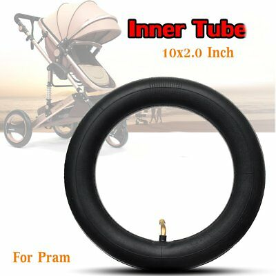 Inner Tube Bent Schrader Valve Stem Stroller For Pram Kid Bike- Size 10x2.0 Inch