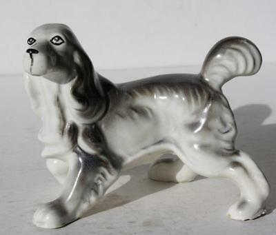 Pointer-Springer Spaniel Dog Figurine-Ceramic-Porcelain-Great Detail-Adorable