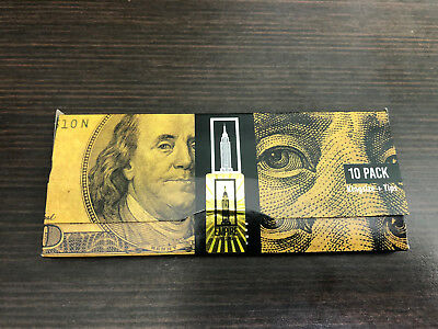 Empire Benjamin Rolling Papers (1 Wallet of 10) $100 Dollar Bill + Filter Tips