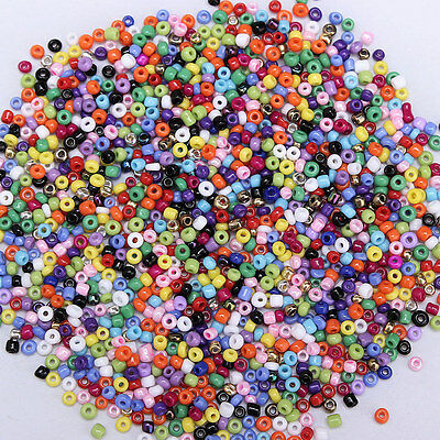 5000pcs/lot 2mm Glass Beads Seed Pearls Round Spacer For Jewelry Makings DIY
