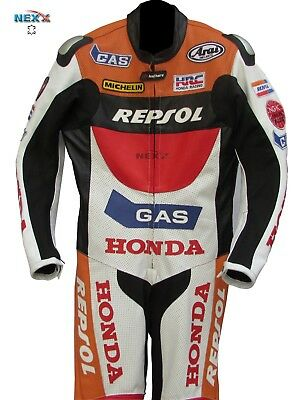 HONDA Motorcycle Leather Suit Motorbike Leather Suit Racing suit Riding Suit