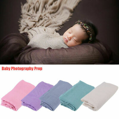 Newborn Baby Infant Toddler Photography Props Wrap Sleeping Swaddle Blanket