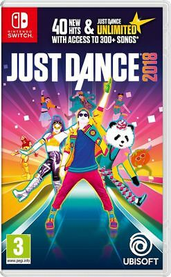 Just Dance 2018 Nintendo Switch Spiel *NEU OVP*