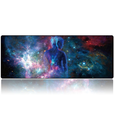 COOL Large Mouse Keyboard Pad Computer Gaming Desk Soft Mat Optical Mousepad PC