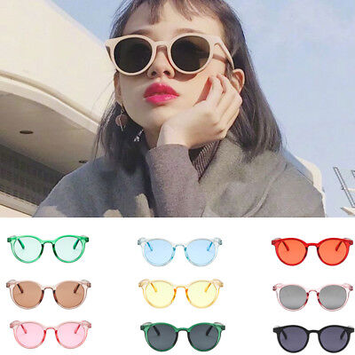 Women Vintage Cat Eye Sunglasses Round Classic Retro Fashion Shades Eyewear Hot