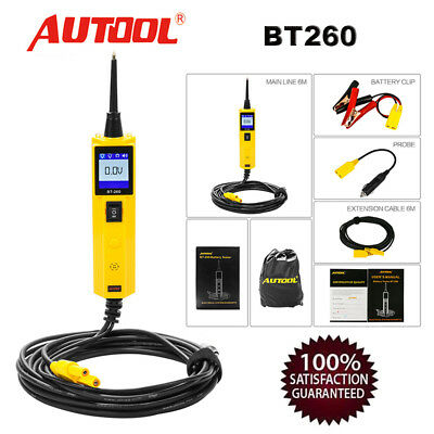 Autool BT260 Electrical System LED OBD2 Diagnostic Tool Auto Circuit Tester DE